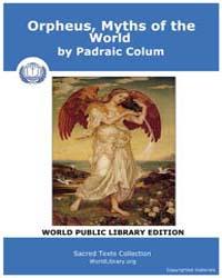 Orpheus, Myths of the World by Colum, Padraic