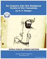 An Inquiry into the Religious Tenets of ... by Badger, G. P.
