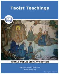 Taoist Teachings by