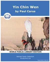 Yin Chin Wen by Carus, Paul