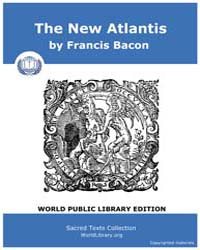 The New Atlantis by Bacon, Francis