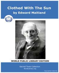Clothed With The Sun by Maitland, Edward