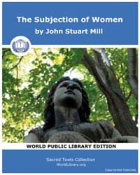 The Subjection of Women by Mill, John Stuart