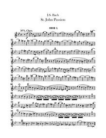 Johannespassion (St. John Passion ; Pass... Volume BWV 245 ; BC D2 by Bach, Johann Sebastian