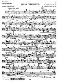 Pezzo Capriccioso, Op.62 (Пеццо каприччи... Volume Op.62 ; TH 62 by Tchaikovsky, Pyotr