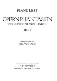 Réminiscences de Don Juan (Grand fantais... Volume S.418 ; LW.A80 by Liszt, Franz
