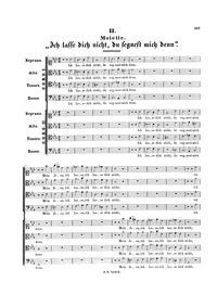 Ich lasse dich nicht, BWV Anh.159 : Comp... Volume BWV Anh.159 ; C9 by Bach, Johann Sebastian