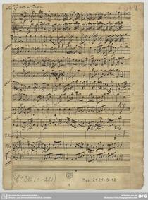 Violin Concerto in B-flat major : Comple... by Pisendel, Johann Georg