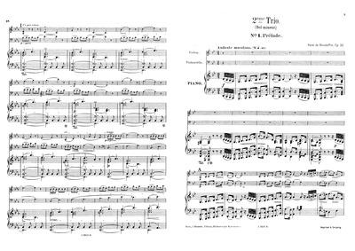 Piano Trio No.2, Op.32 : Piano score, Vi... Volume Op.32 by Boisdeffre, René de