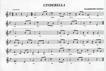 Cinderella : Complete Score by Tonoli, Giampietro