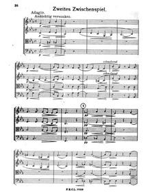 String Quartet in G minor : IV. Zweites ... by Büttner, Paul