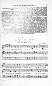 Lordly Gallants (Lordly Gallants. Glee f... by Callcott, John Wall
