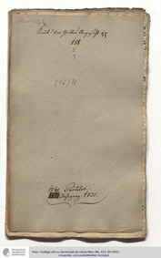 Kommt vor Gottes Angesicht, GWV 1169/25 ... Volume GWV 1169/25 by Graupner, Christoph