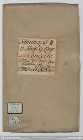 Violin Concerto in E major, GraunWV A:XI... Volume GraunWV A:XIII:5 by Graun, Johann Gottlieb