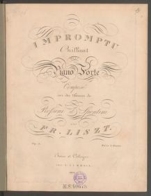 Impromptu brillant sur des thèmes de Ros... Volume S.150 ; LW.A5 ; Op.3 by Liszt, Franz