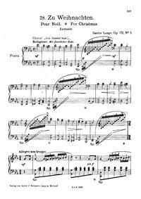 Fantasien über beliebte Lieder, Op.172 :... Volume Op.172 by Lange, Gustav