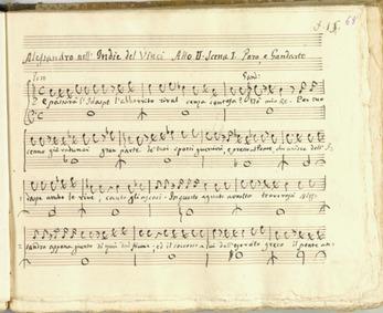 Alessandro nell'Indie (Dramma per musica... by Vinci, Leonardo