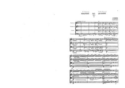 String Quartet No.2, Op.5 : Complete Sco... Volume Op.5 by Taneyev, Sergey