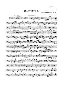 String Quartet No.10, Op.74 (Harp-Quarte... Volume Op.74 by Beethoven, Ludwig van