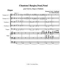 Chantons! Bargies, Noué, Noué : Organ by Rondeau, Michel