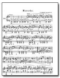 Mazurka by Chopin, Frédéric