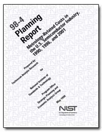 98-4 Planning Report Metrology-Related C... by Finan, William F.