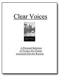 Clear Voices by Various