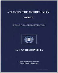 Atlantis : The Antideluvian World by Donnelly, Ignatius