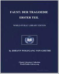Faust : Der Tragoedie Erster Teil by Von Goethe, Johann Wolfgang