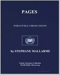 Pages by Mallarmé, Stéphane