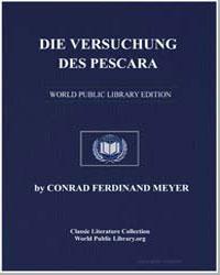 Die Versuchung des Pescara by Meyer, Conrad Ferdinand