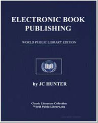 Electronic Book Publishing by Hunter, J. C.