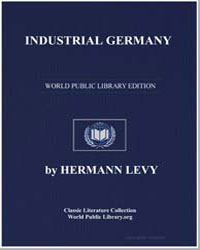 Industrial Germany by Levy, Hermann