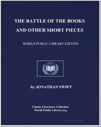 The Battle of the Books and Other Short ... by Swift, Jonathan