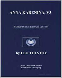 Anna Karenina, Vol. 3 by Tolstoy, Leo