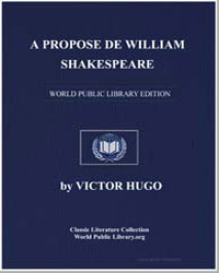 A Propos de William Shakespeare by Hugo, Victor