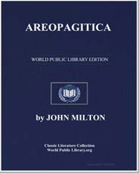 Areopagitica by Milton, John
