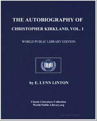 The Autobiography of Christopher Kirklan... by Linton, Elizabeth Lynn