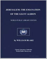 Jerusalem : The Emanation of the Giant A... by Blake, William