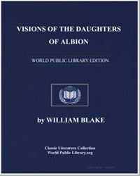 Visions of the Daughters of Albion by Blake, William