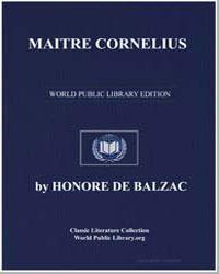 Maitre Cornelius by De Balzac, Honore