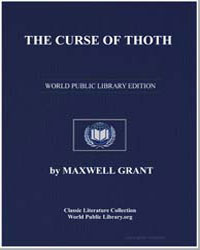 The Curse of Thoth by Grant, Maxwell