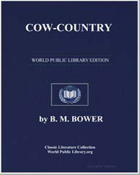 Cow-Country by Bower, Bertha Muzzy