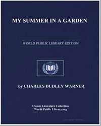 My Summer in a Garden by Warner, Charles Dudley