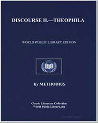 Discourse II : Theophila by Methodius
