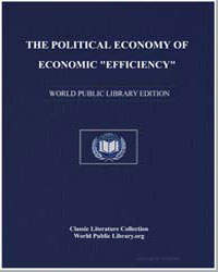 The Political Economy of Economic Effici... by