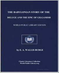 The Babylonian Story of the Deluge and t... by Budge, Ernest Alfred Wallis, Sir