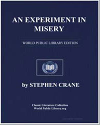 An Experiment in Misery by Crane, Stephen