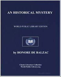 An Historical Mystery by De Balzac, Honore