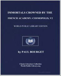 Immortals Crowned by the French Academy ... by Bourget, Paul